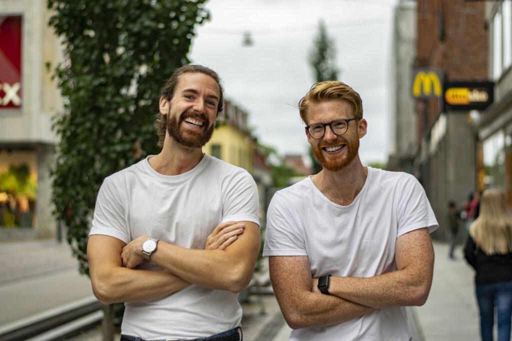 Mikael och Gustav, grundarna av ES Fix-IT Handelsbolag i Borås.
